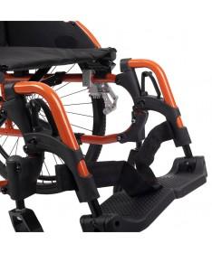 Silla de ruedas BALAN de acero basculante