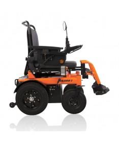 E-KITTOS Silla de ruedas eléctrica plegable con un botón
