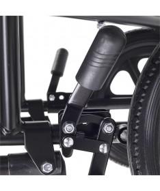 Silla de ruedas CAPRI 31 de aluminio plegable